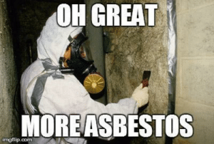 Perfection  in the Process of Asbestos Removal