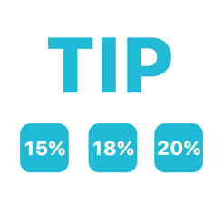 Calculate ways for the tip to give