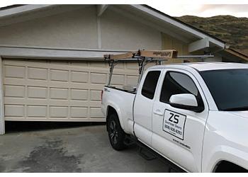 Different garage door types of double garage